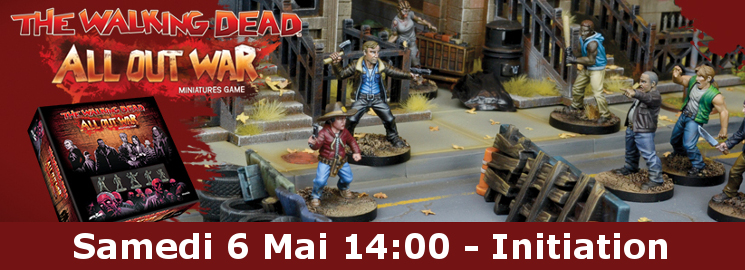 Initiation au jeu: The Walking Dead - All out War